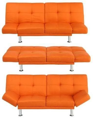 Target Orange Futon Couch From For The Home