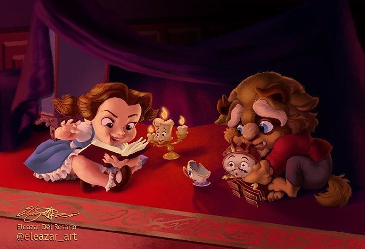 I love this!! Belle tells such good stories.