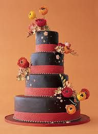 My wedding colors with my fav flowers. Ron Ben-Israel cakes.