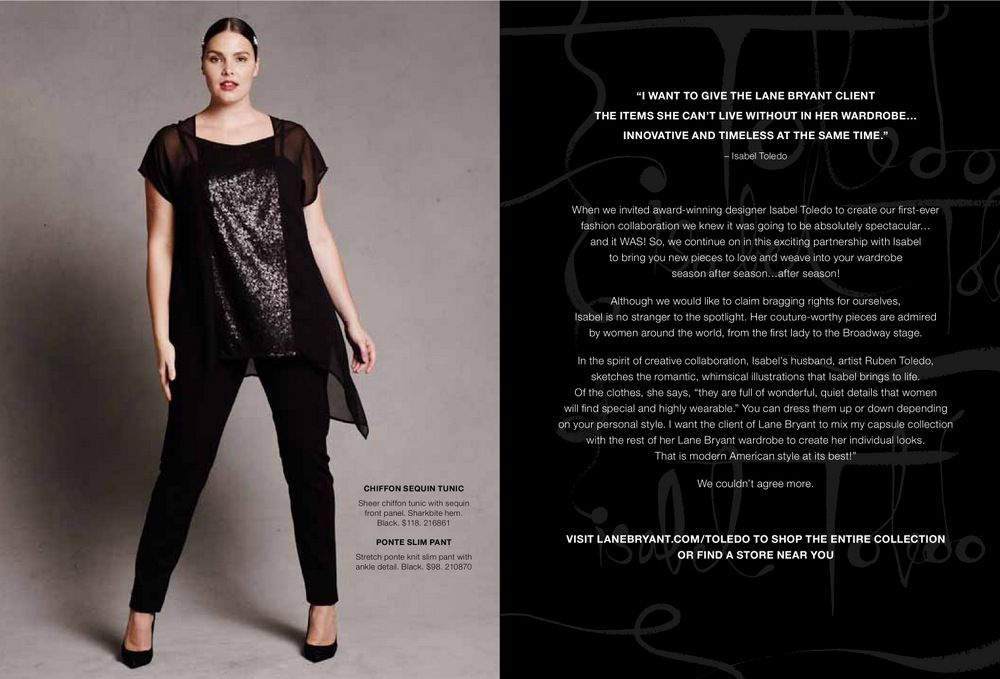 First look  The Isabel Toledo x Lane Bryant Holiday Collection ... ac2f2eec7e7b3