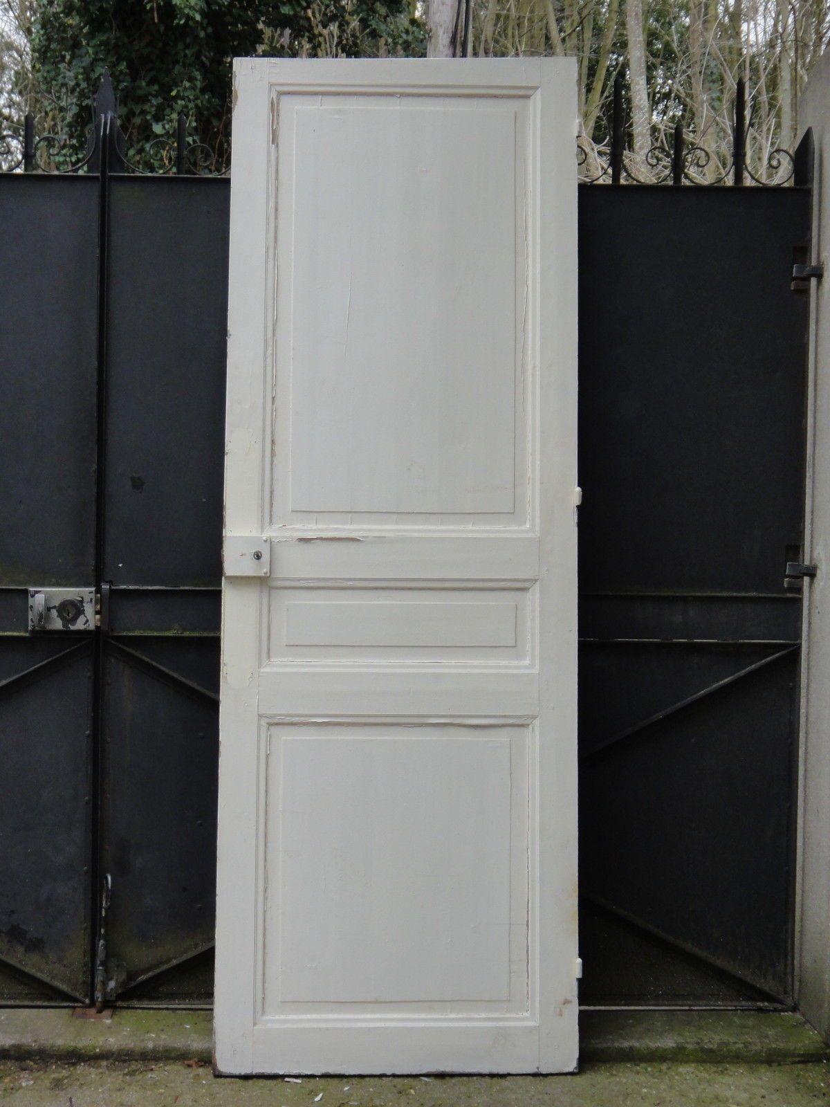 Ancienne Porte Intérieure En Bois, 208,5 X 72,5 Cm FOR SALE