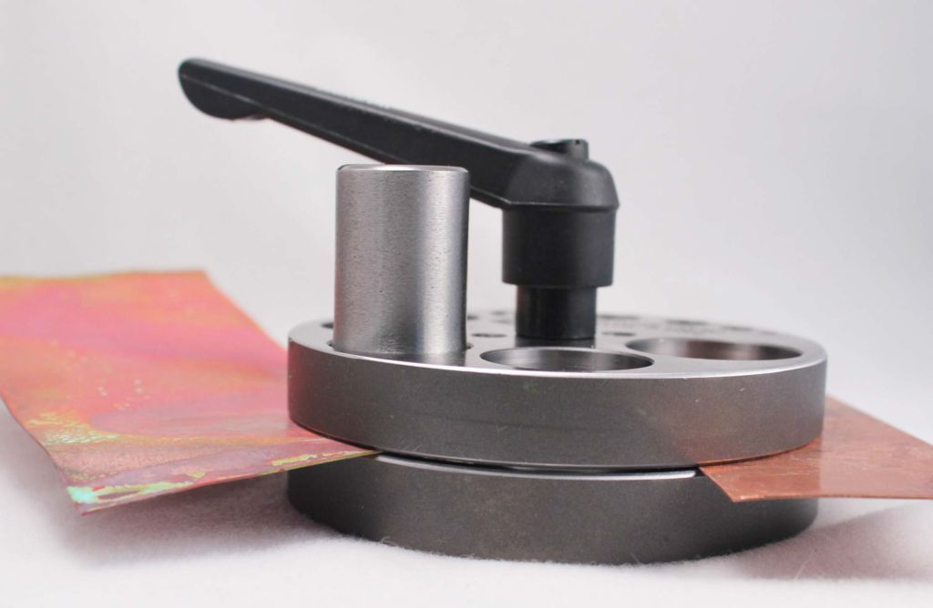 Cut Metal Discs for Your Jewelry Designs: How To Use a Disc Cutter