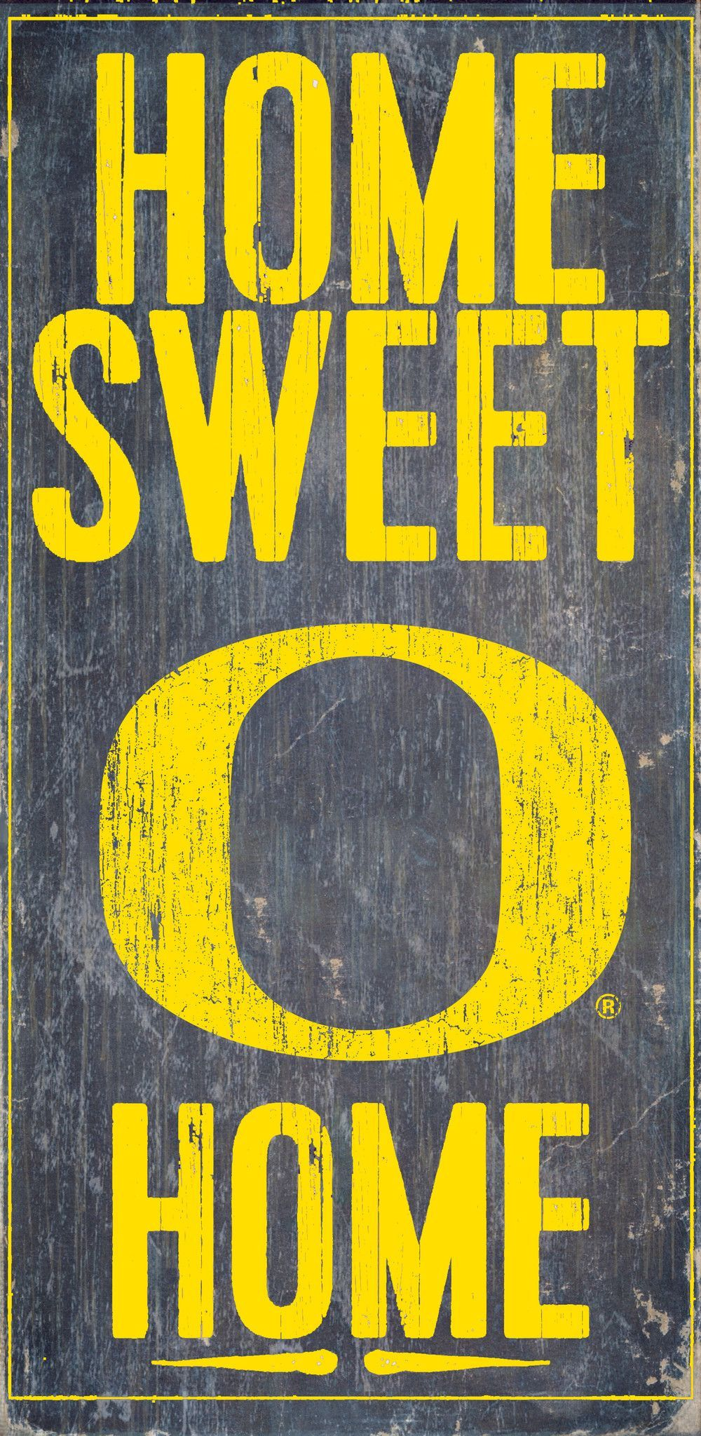 Officially Licensed Oregon Football Home Sweet Home Sign | Pinterest ...