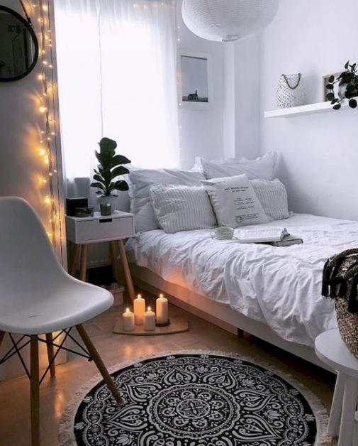 25 Ways Decorating Apartment Bedroom