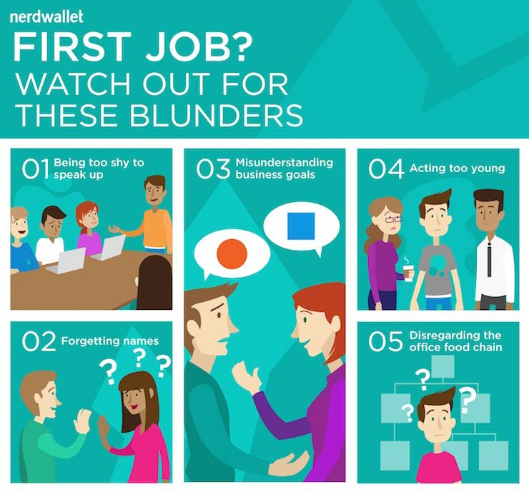 5 Rookie Career Mistakes and How to Avoid Them