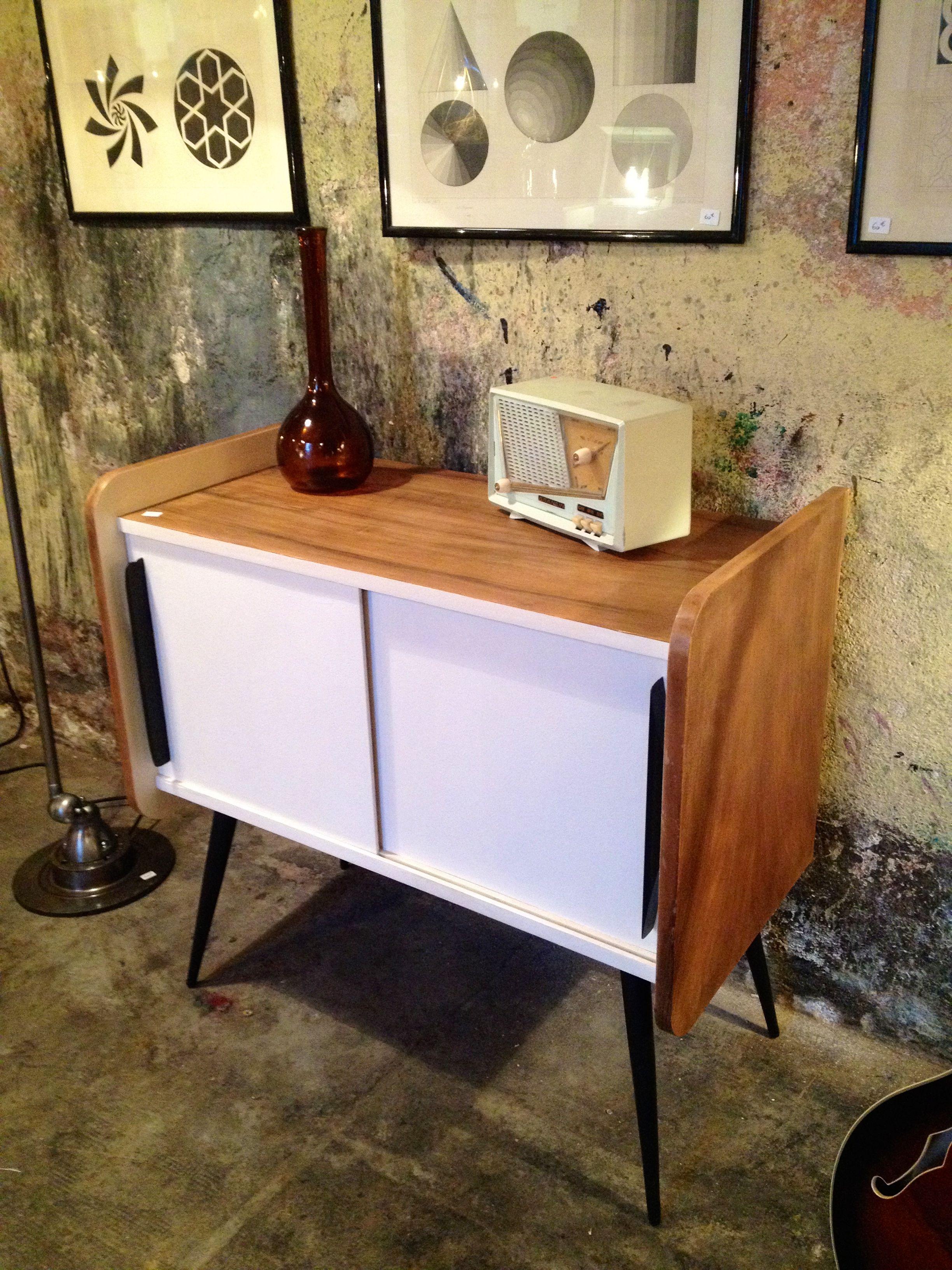 meuble hifi années 60 | others | meuble, meuble hifi, mobilier de salon
