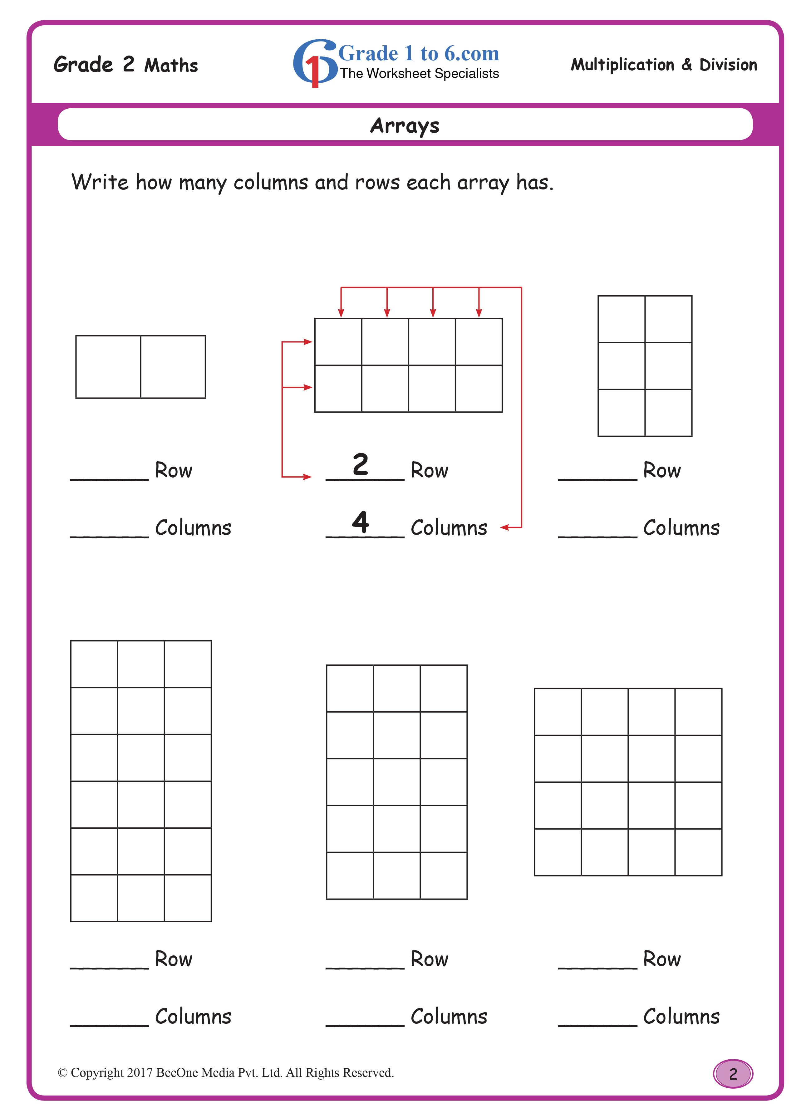 arrays Buy the entire Eworkbook of 300 plus pages for
