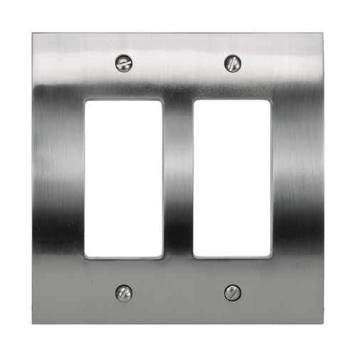 Atlas Homewares Modern Switch Plate Covers Wall Plate In Brushed