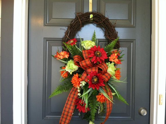 Hey, I found this really awesome Etsy listing at http://www.etsy.com/listing/162589817/fall-or-thanksgiving-wreath
