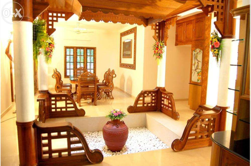 Nalukettu interior google search courtyard pinterest for Interior design of house in indian style