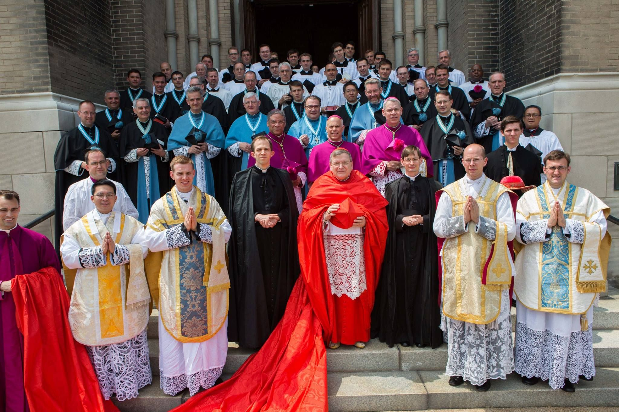 Deo gratias! On August 5, 2014, four new priests were