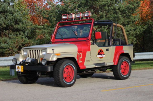 Jurassic Park Jeep For Sale >> Awesome Jurassic Park Jeep Wrangler For Sale | Jeep