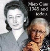 Miep Gies The Woman Who Hid Ann Frank And Her Family For 2 Years Hero Women In History Inspirational People Anne Frank