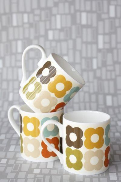 Orla Kiely - Mugg - Multi Flower Print