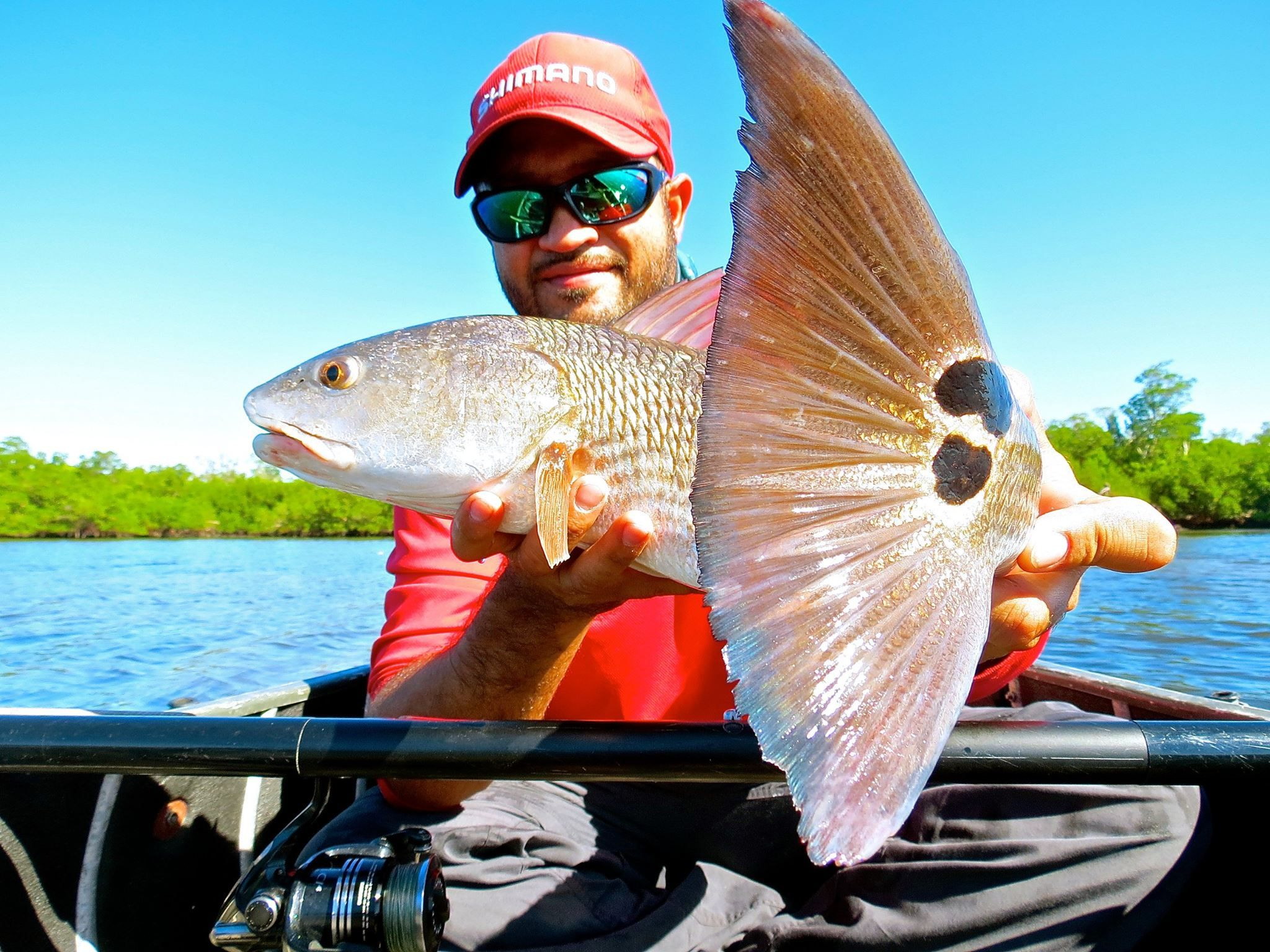 Roy Leyva Slays Florida Fish With Shimano Waxwing Fish Redfish