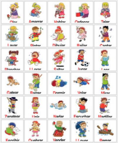 comic mnemonics for spanish verbs pdf