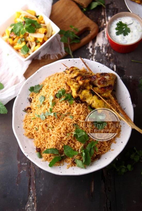 Nasi Kabsa Arabian Kabsa Rice Resep Masakan Resep Masakan Indonesia Masakan