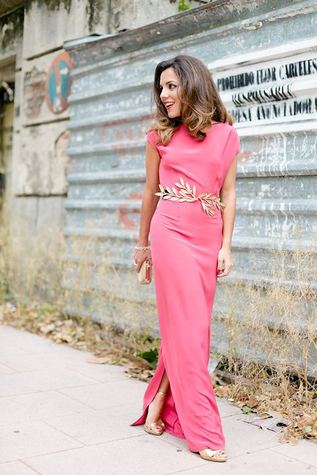 Invitadas elegantes.. y con vestido largo! | Guess wedding ...