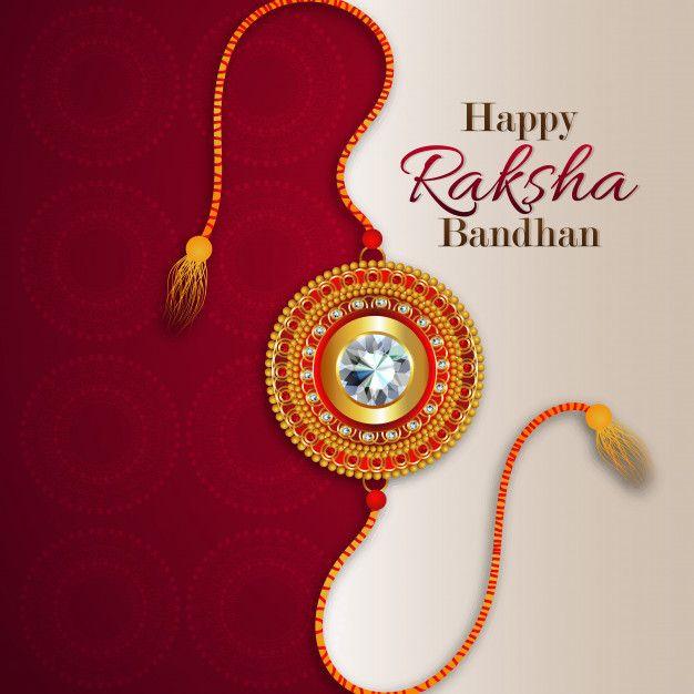 Raksha Bandhan 2019: Happy Raksha Bandhan With Creative Background