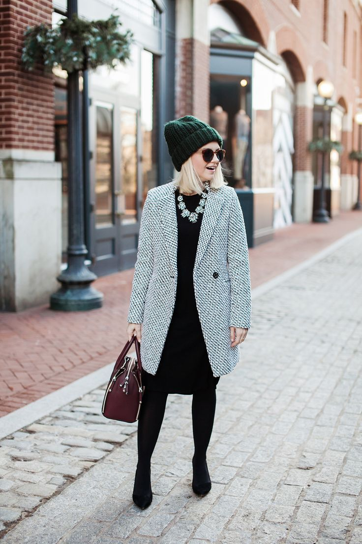 5c468d0f46e3 Poor Little It Girl - Tweed Coat -  poorlilitgirl