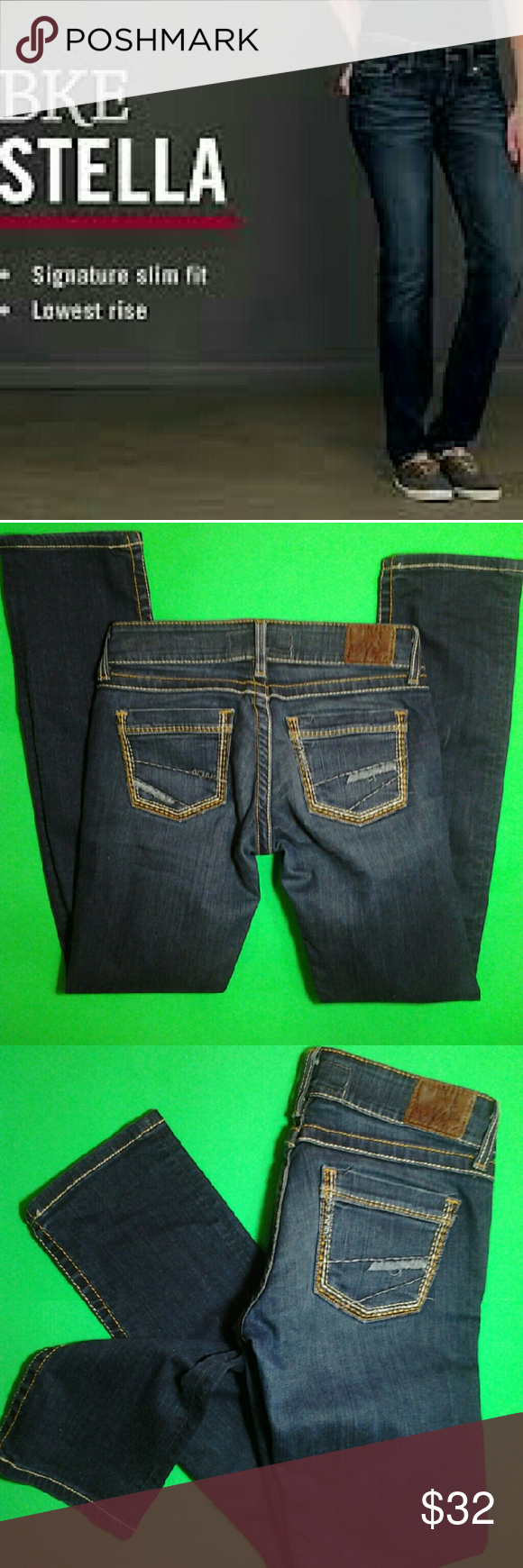 BKE Stella Denim BKE Stella denim ... straight leg fitted jeans ... BKE Jeans Straight Leg