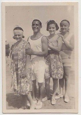 Foto anni 20 Viserba Rimini Bellezze al Bagno 22.8.1929