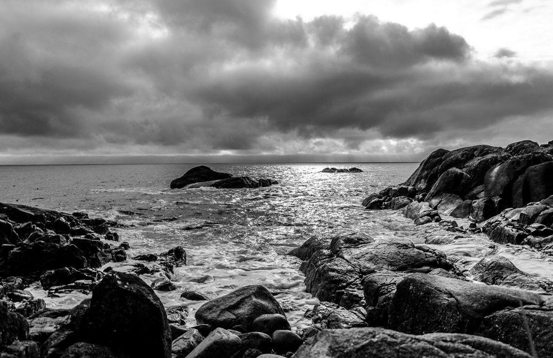 Beach photography seascape photo beach decorblack and white