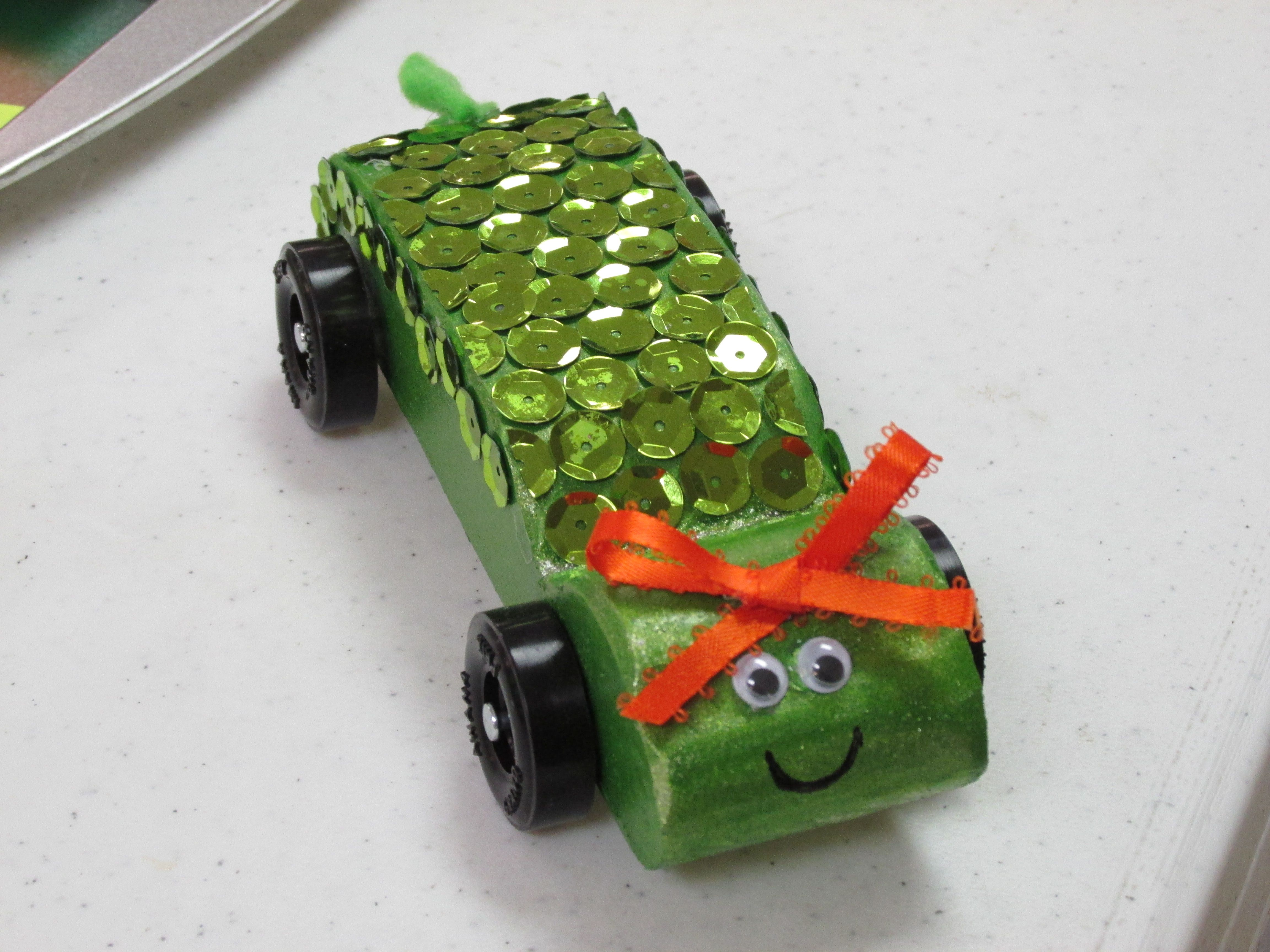 AHG Pinewood Derby: Pokey the Turtle Pinewood Derby Car (Great for ...