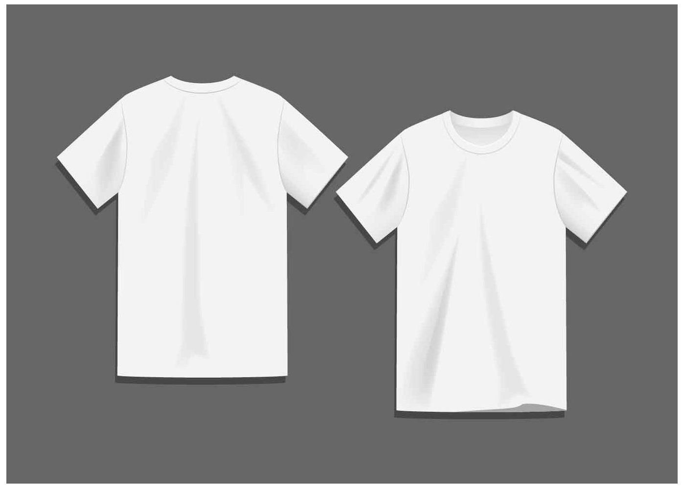 Download Download White Blank T Shirt Template Vector For Free Blank T Shirt Mockup Blankt Shirtmockup Downloa Shirt Template T Shirt Design Template Blank T Shirts