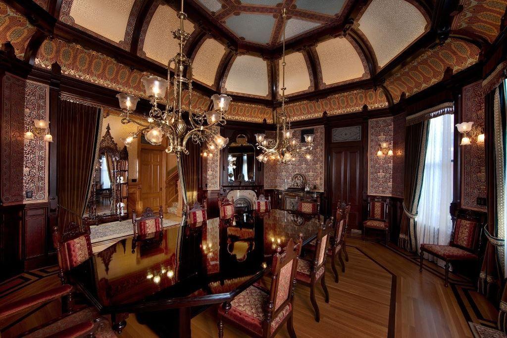 Victorian Dining Room  Dining Room  Pinterest  Victorian Dining Impressive Victorian Dining Room Decor Decorating Design