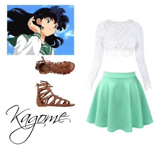"""Kagome"" by vida01 ❤ liked on Polyvore"