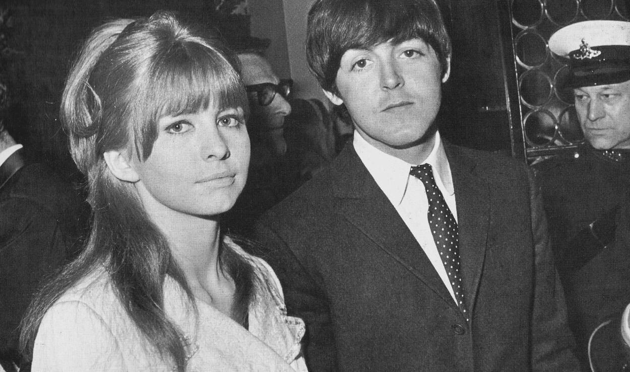 Ringodreammer Paul McCartney And Jane Asher Not Too Happy To Be Having Their Picture Taken Circa 1965 1966