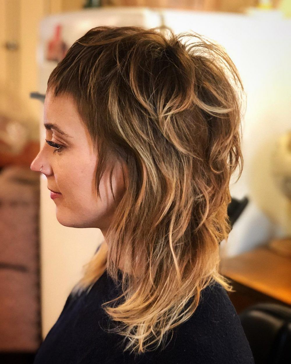 23 cute short bangs trending in 2021 modern shag haircut