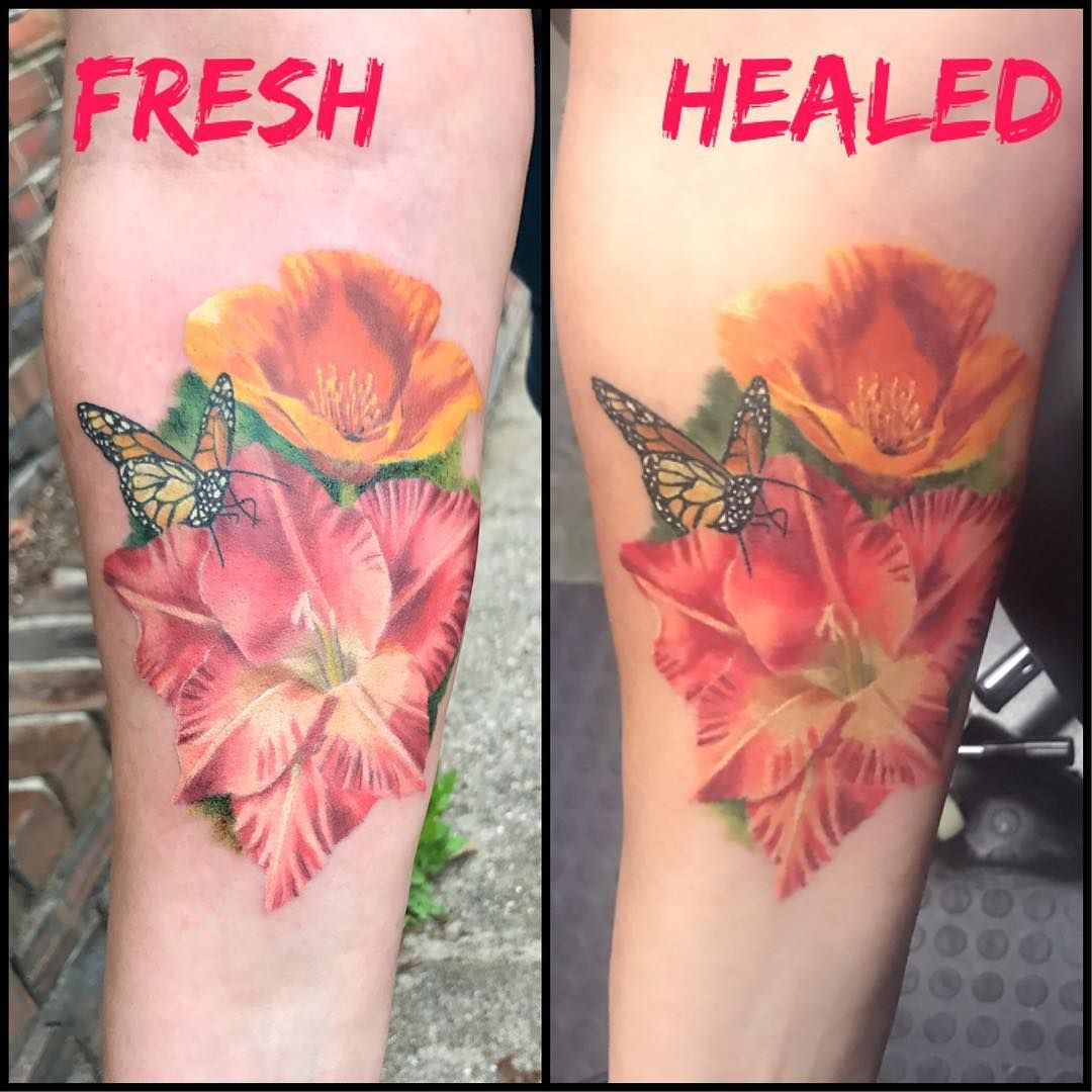 Teresa Andrews On Instagram How You Care And Heal Your Tattoo