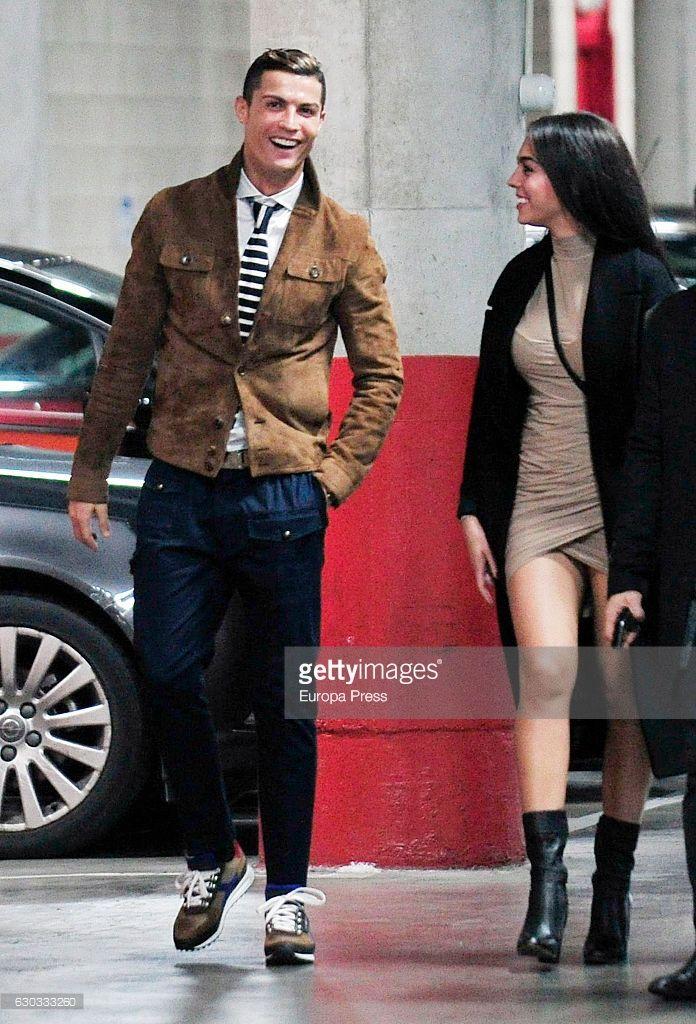 Cristiano Ronaldo And His Girlfriend Georgina Rodriguez Attending Alejandro Sanz Cristiano Ronaldo Style Cristiano Ronaldo Girlfriend Cristiano Ronaldo Junior