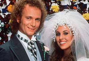 Who didn't rush home from school to watch this wedding?