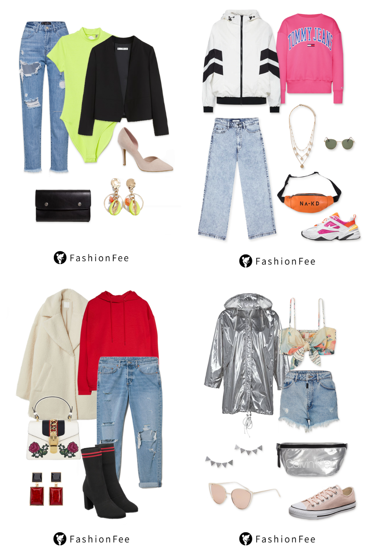 Jeans Kombinieren Die Coolsten Outfits Zum Nachshoppen Outfit Frauenoutfits Outfit Ideen