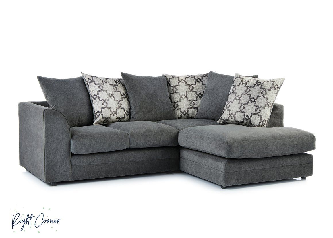 TWICKENHAM   Sofa Club   Cheap Sofa   Fast Delivery   Fabric Sofa Double  Corner Sofa