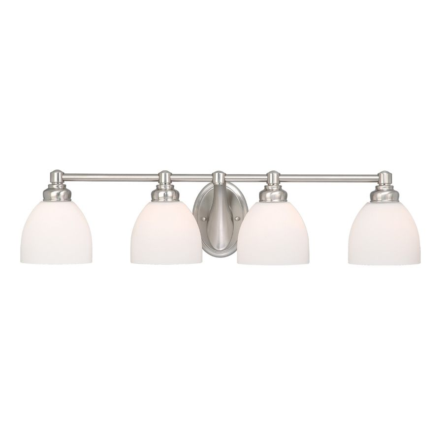 fixtures nickel bathroom lighting decor light vanity for retro brushed lowes your