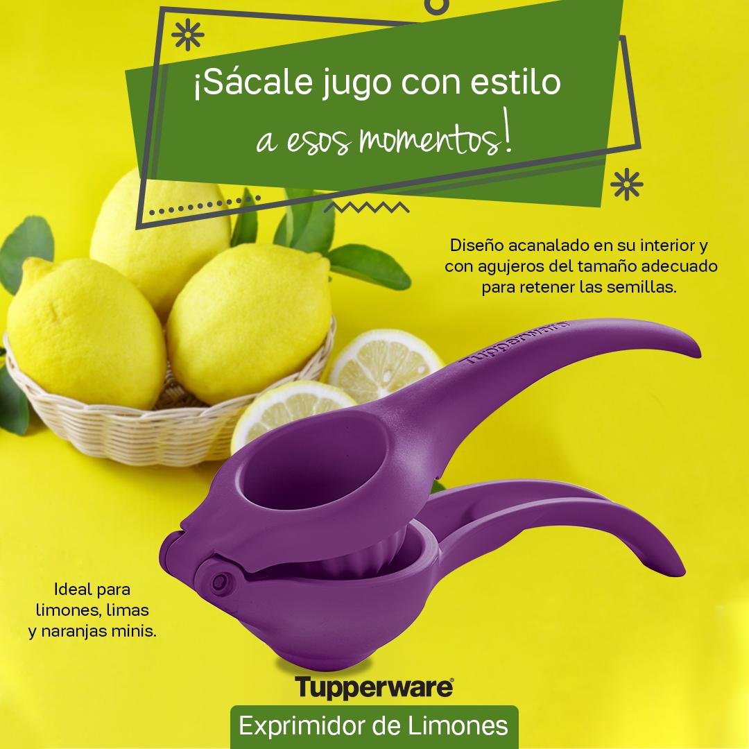 exprimidor tupperware