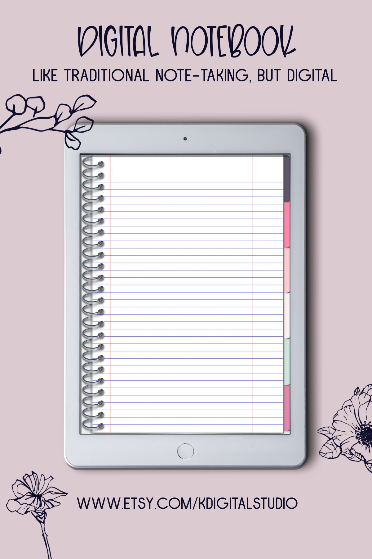 digital notebook for iPad and Android, GoodNotes