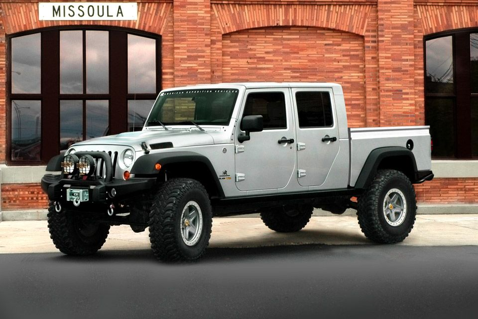 Aev Brute Double Cab Jeep Pickup Jeep Brute Jeep Pickup