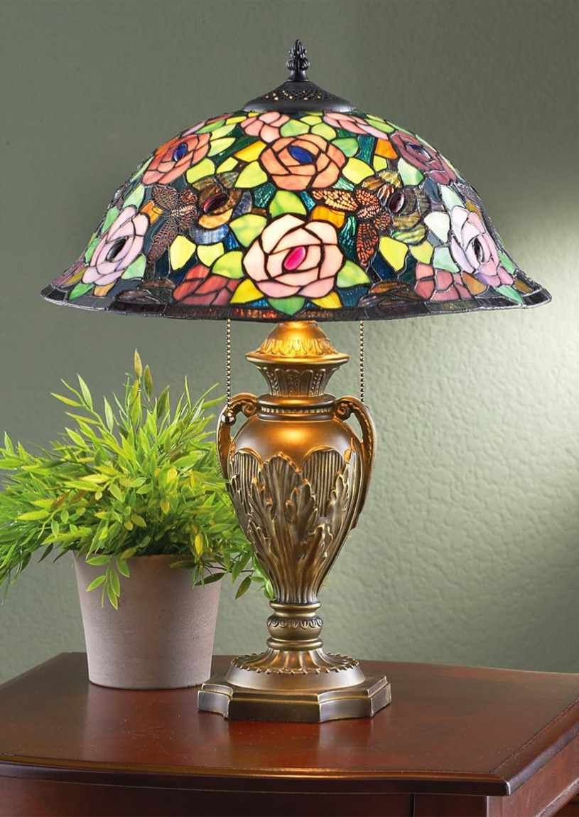Tiffany lamp floral