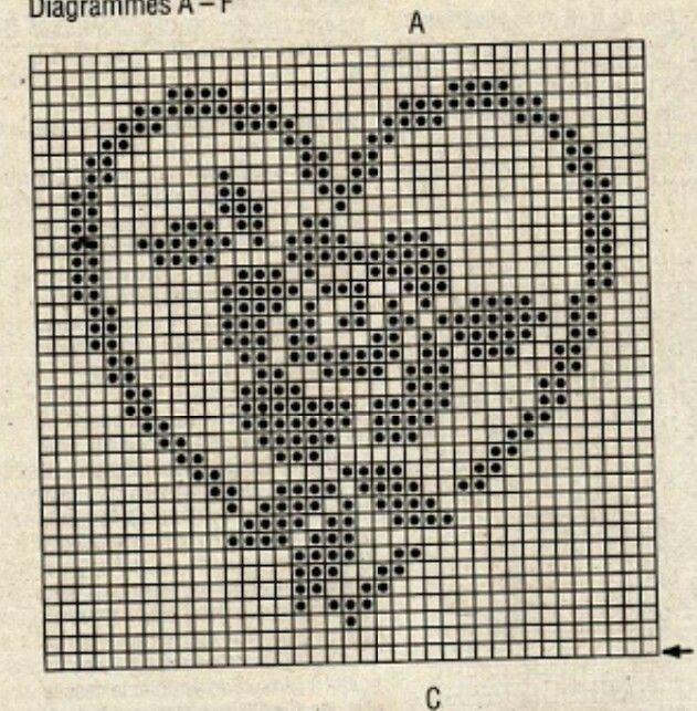 Picasa Web Albums - filet crochet chart | Filet crochet ...