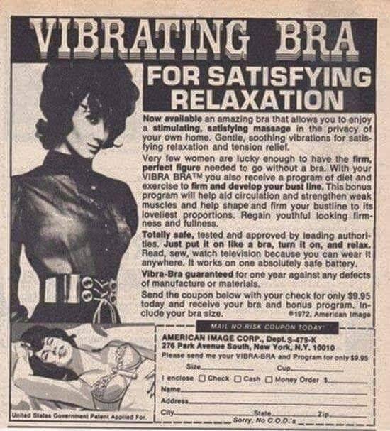 Vibrating Bra ...