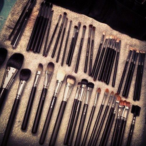 Brushes   Mac makeup brushes, Makeup, Best makeup tips