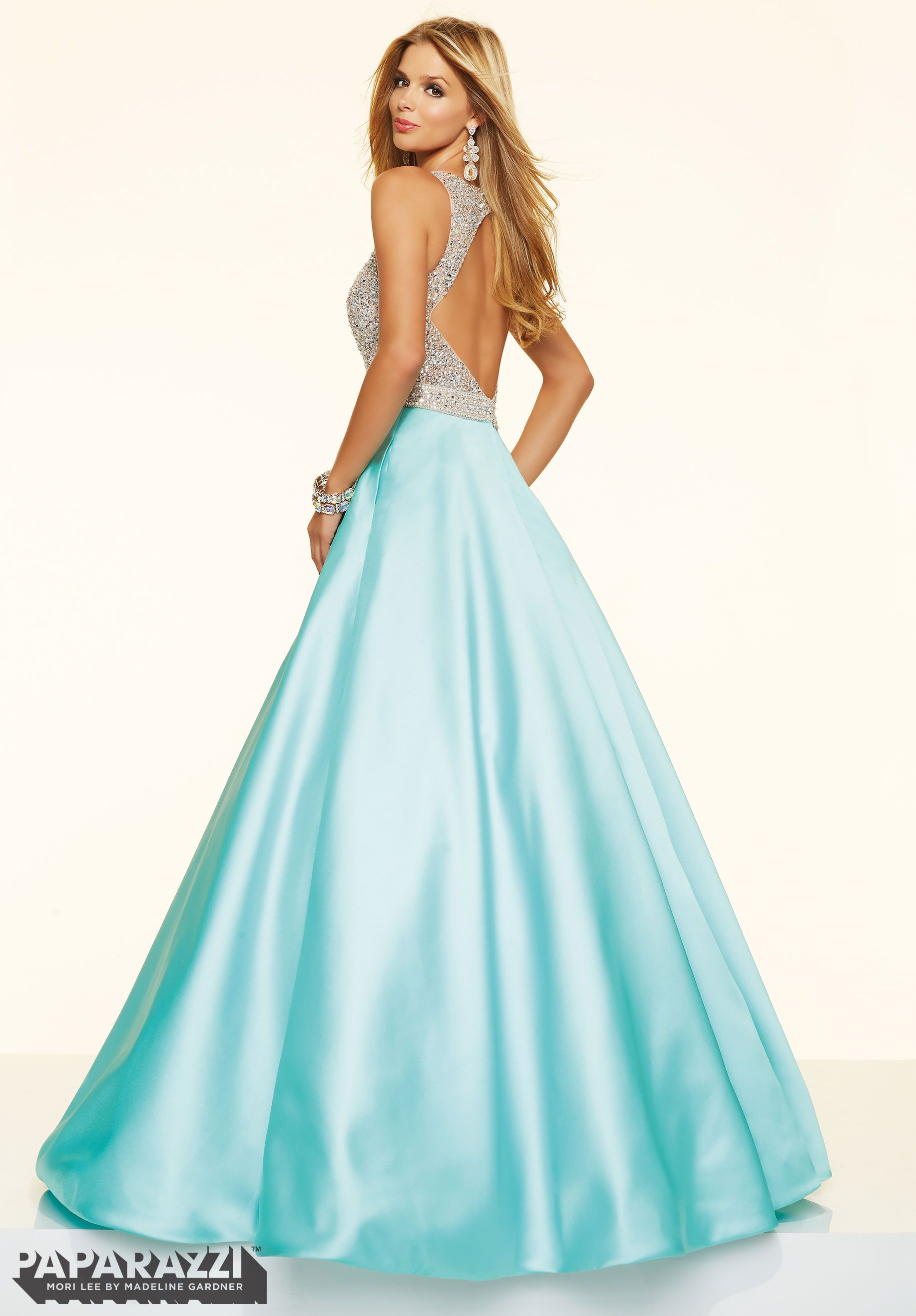 Find this beautiful paparazzi by mori lee dress at whatchamacallit
