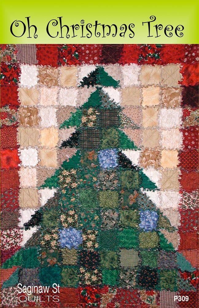 Oh Christmas Tree Quilt Quilting Pattern From Saginaw St Quilt Co New Saginawstquiltco Christmas Tree Quilt Tree Quilt Crazy Quilts