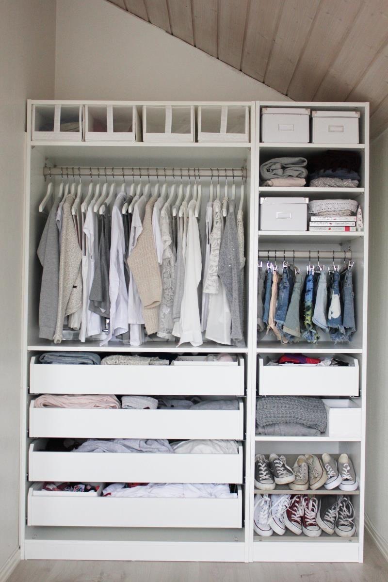 Awesome Closet Idea for Small Room