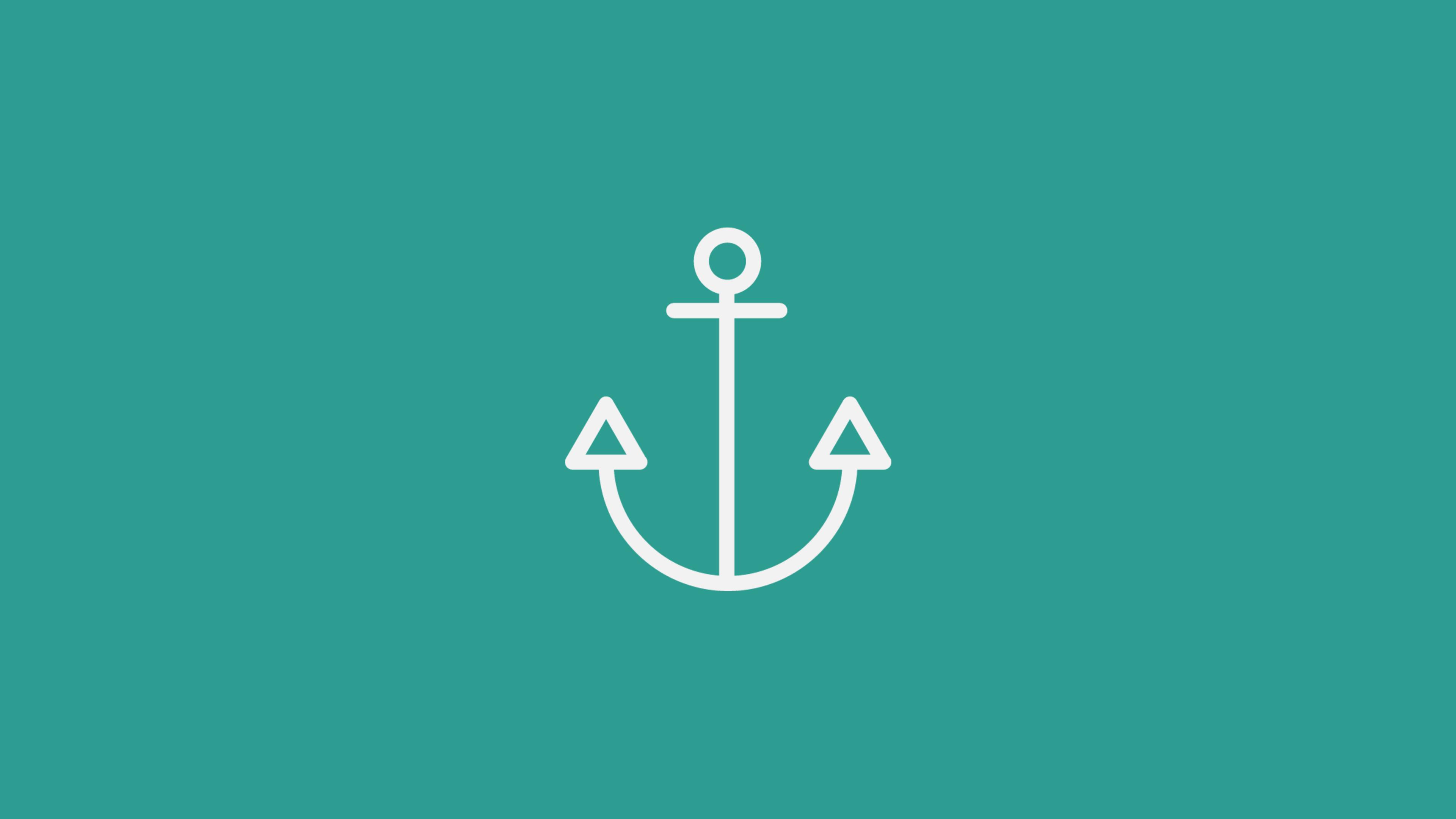 Minimal Anchor Cerca Con Google Anchor Wallpaper Hd Cool Wallpapers Nautical Wallpaper